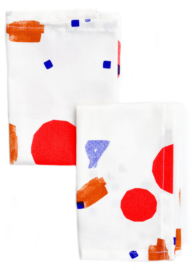 Sketched Shapes Napkin Set - LEIF