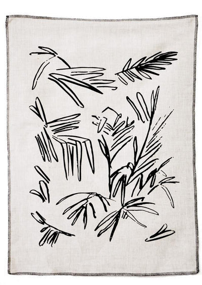 Mexican Palm Tea Towel