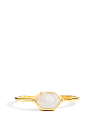 Skewed Hexagon Ring
