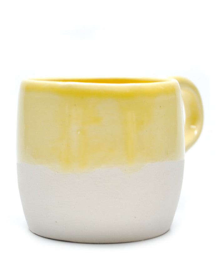 Yellow Dipped Mug - LEIF