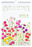 Snow & Graham 2014 Wall Calendar - LEIF