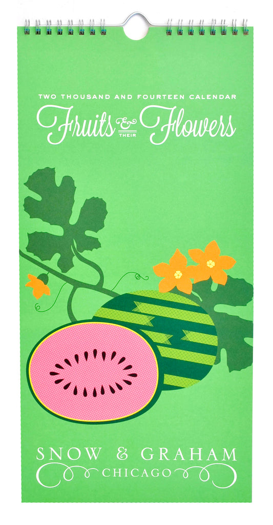 Fruits & Flowers 2014 Calendar - LEIF