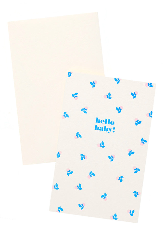 1: Hello Baby! Card in  - LEIF