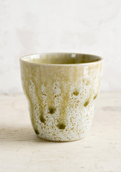 Snowy Meadow Ceramic Cup