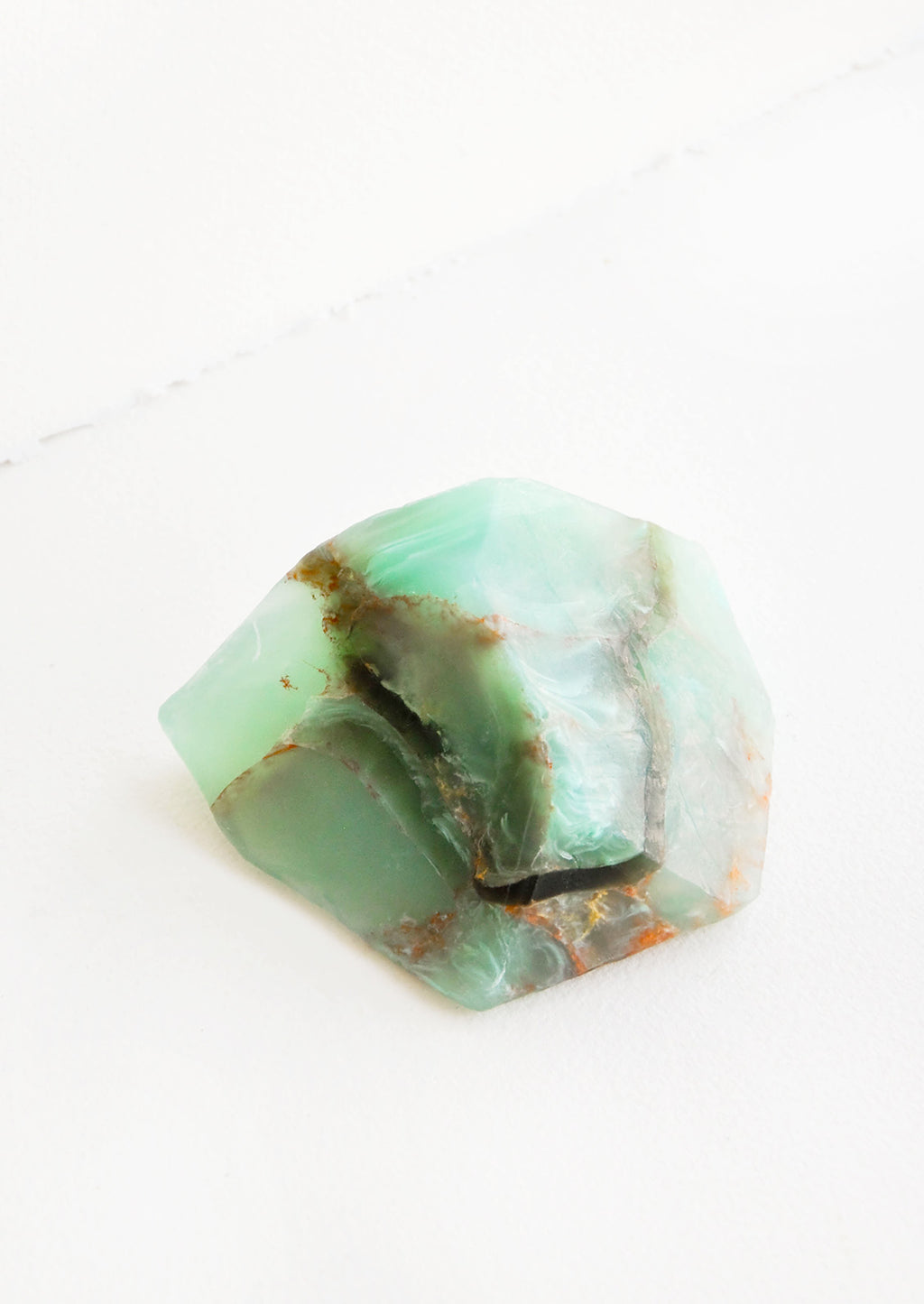 Jade: Bar soap in the form of a realistic looking jade gemstone