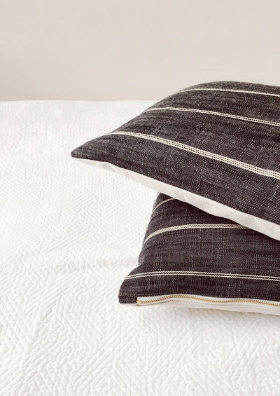 Sobi Stripe Pillow in  - LEIF