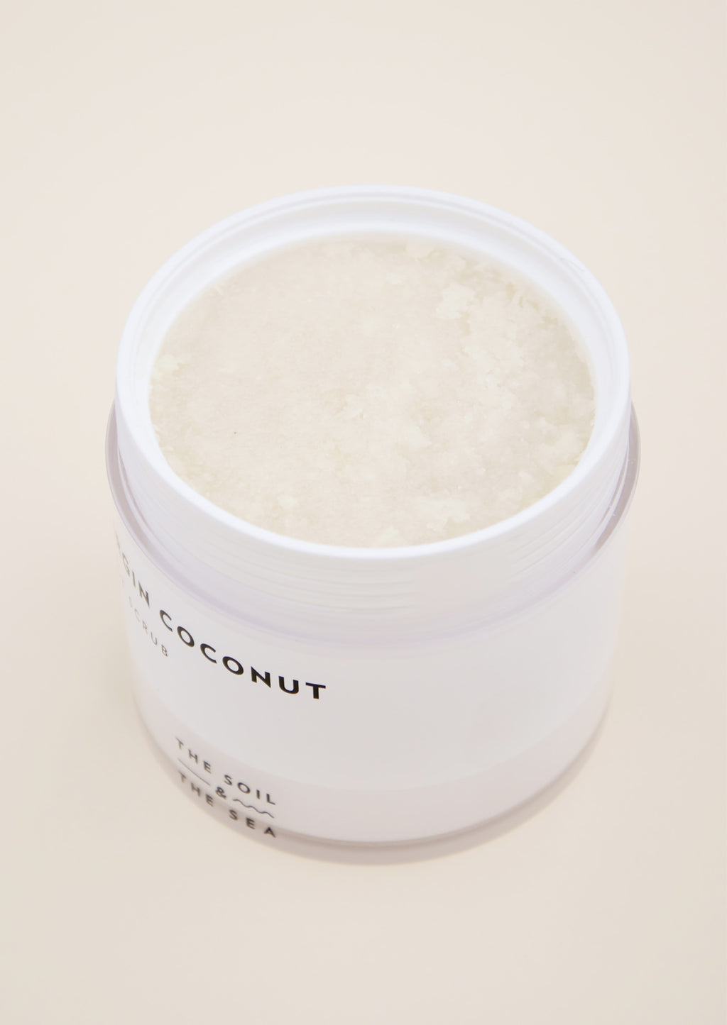 Virgin Coconut Salt Scrub