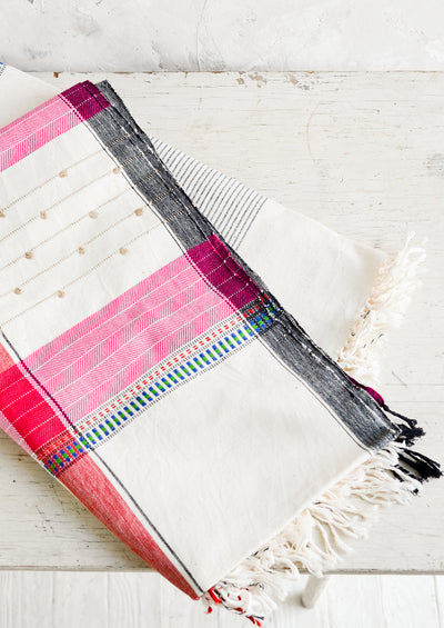 Rumi Woven Cotton Throw