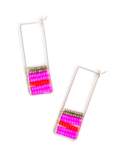 Soma Beaded Earrings - LEIF