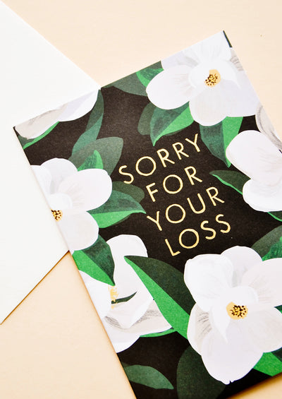 Sorry For Your Loss Card hover