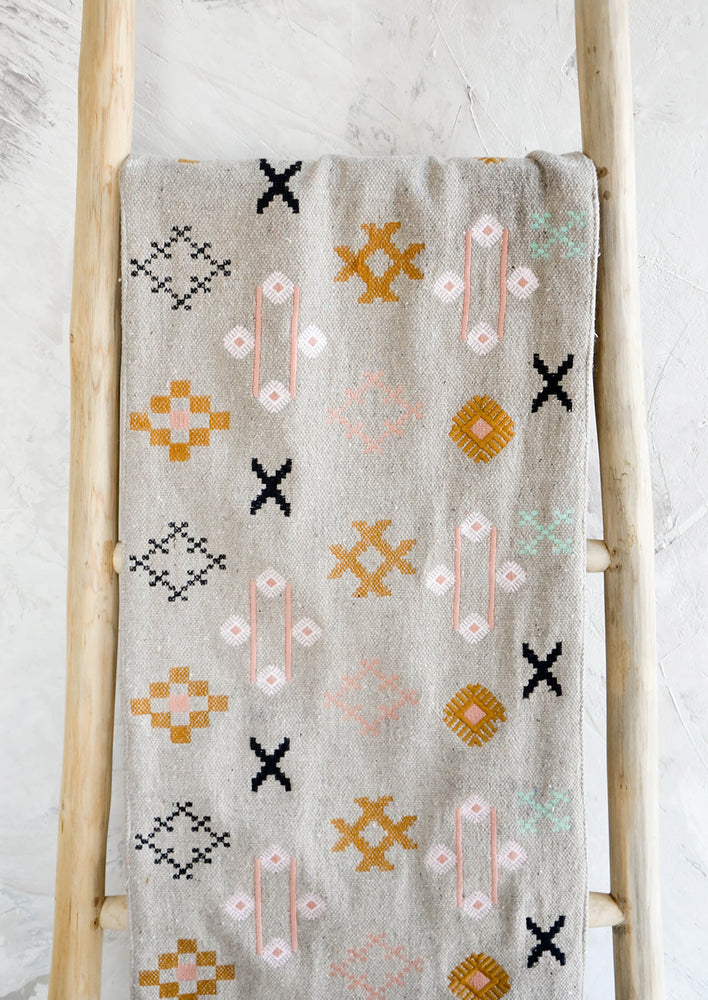Souk Embroidered Table Runner