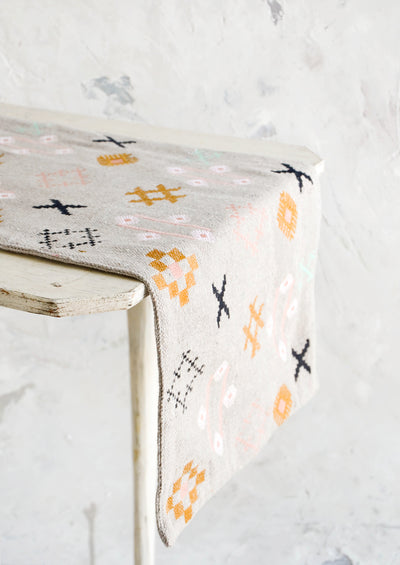 Souk Embroidered Table Runner hover