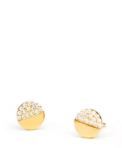 Sparkling Eclipse Stud Earrings - LEIF