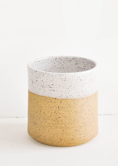 Speckle Dipped Utensil Holder in  - LEIF