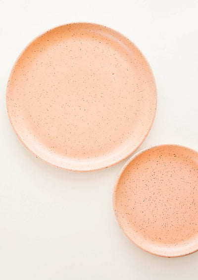 Speckled Pastel Ceramic Plate