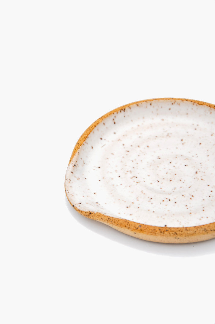 Speckled Ceramic Spoon Rest Leif