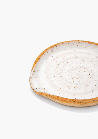 Speckled Ceramic Spoon Rest - LEIF