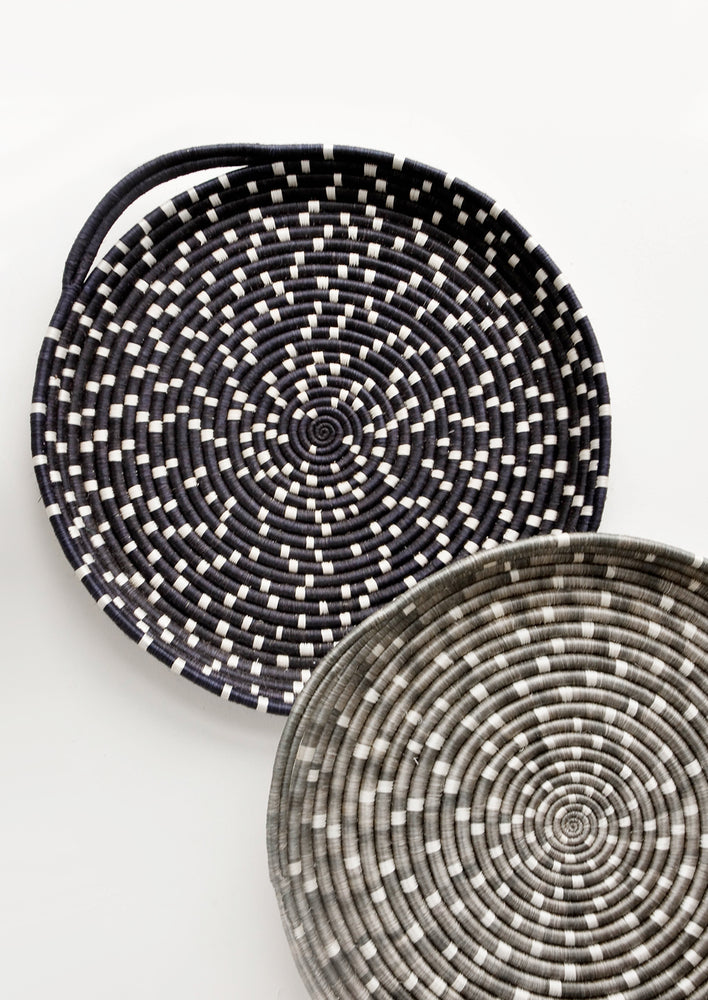 2: Speckled Sweetgrass Serving Tray in  - LEIF