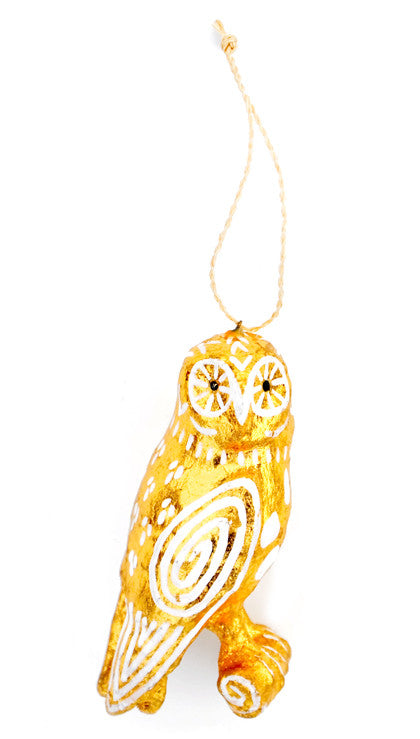Spirit Owl Ornament - LEIF