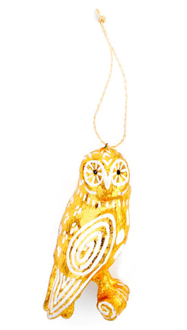 Spirit Owl Ornament