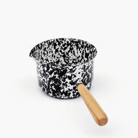 1: Splatter Enamelware Pouring Pot in  - LEIF