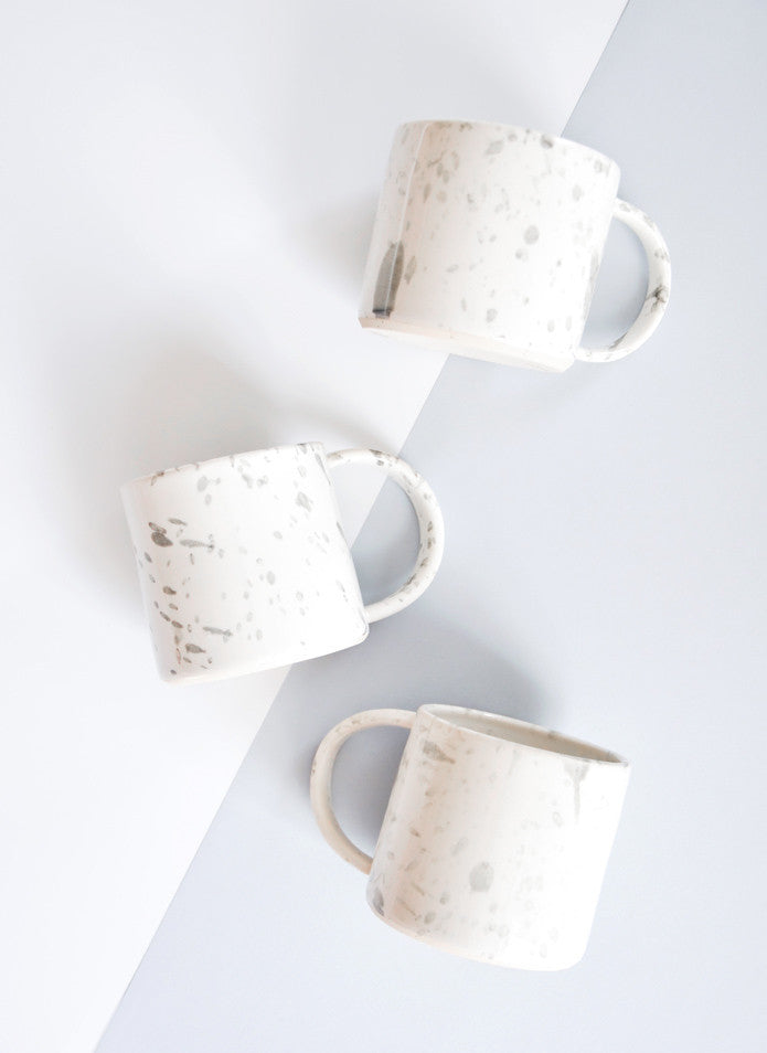 2: Cloud Splatter Mug in  - LEIF