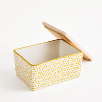 4: Spotted Ceramic Butter Box in Citron Yellow - LEIF