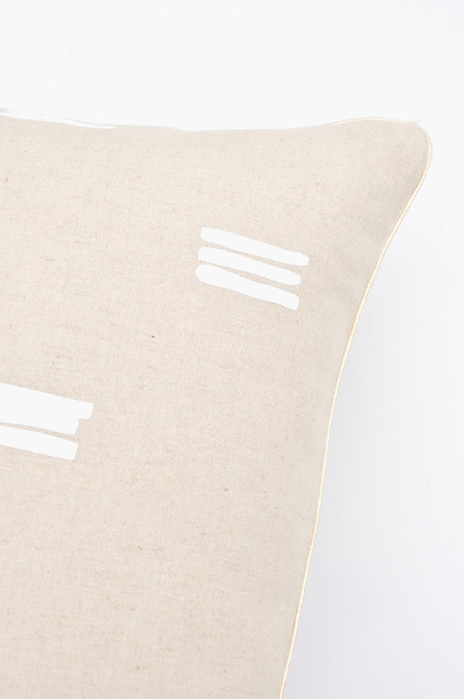 2: Stacked Lines Pillow in  - LEIF