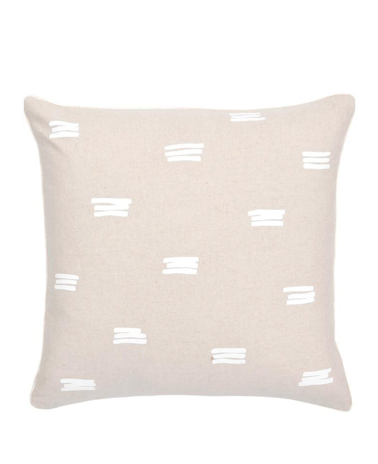 1: Stacked Lines Pillow in  - LEIF