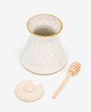 Speckled Ceramic Honey Pot - LEIF