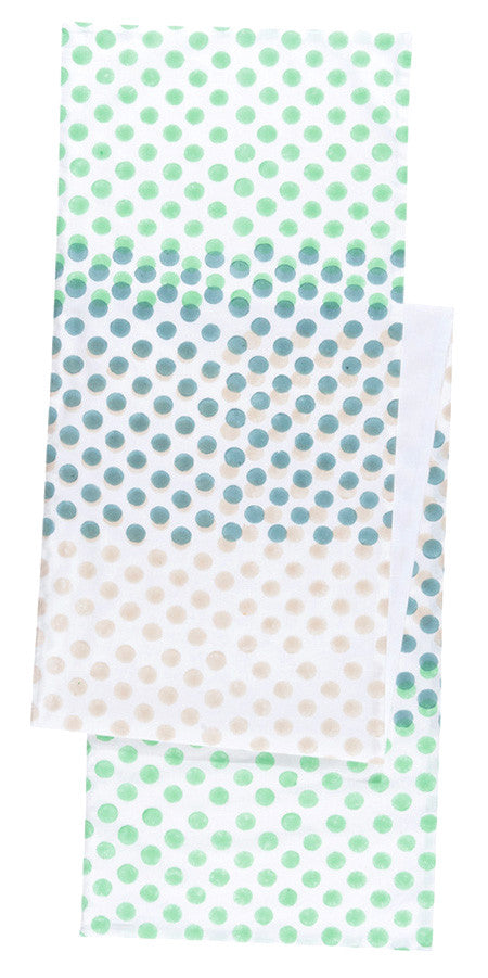 Stamped Dot Table Runner - LEIF