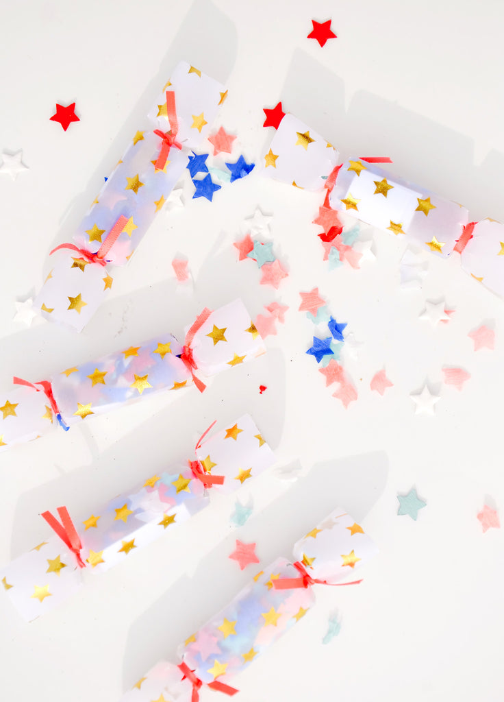 Star Mini Confetti Crackers