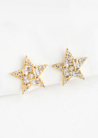 Starlight Pavé Stud Earrings