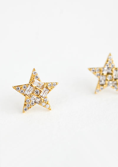 Starlight Pavé Stud Earrings hover