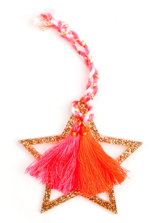 Starry Tassel Ornament - LEIF