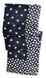 Stars & Diamonds Wool-Silk Scarf - LEIF