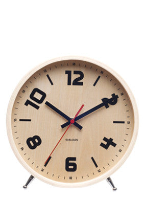 Stockholm Table Clock - LEIF
