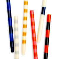 Striped Taper Candles - LEIF