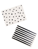 Dots & Stripes Notecard Set - LEIF