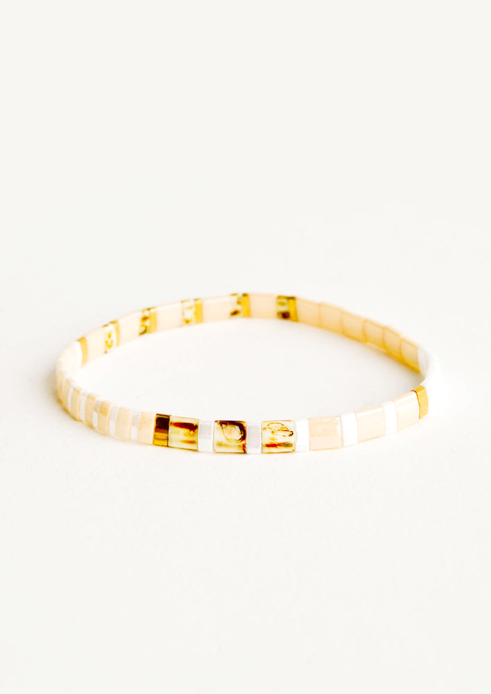 Nude / Conch Multi: Summer Camp Bracelet