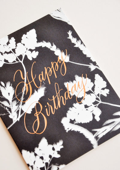 Sunprint Birthday Card hover