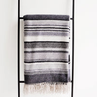 2: Sweater Stripe Wool Throw in  - LEIF