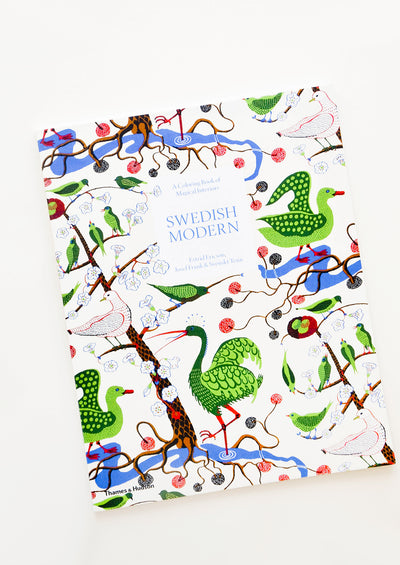Swedish Modern Coloring Book