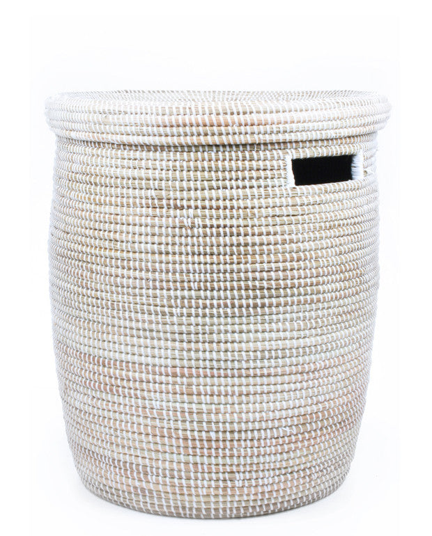 Sweetgrass Woven Laundry Basket