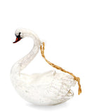 Swimming Swan Ornament