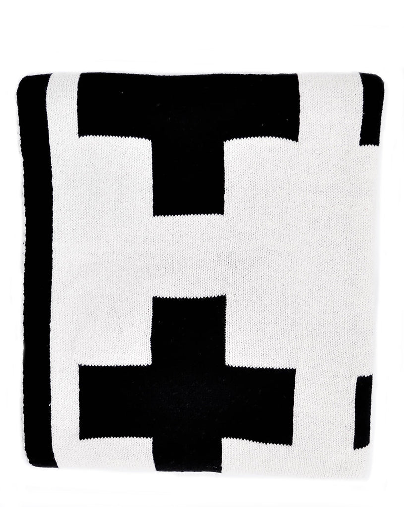 Swiss Cross Reversible Throw