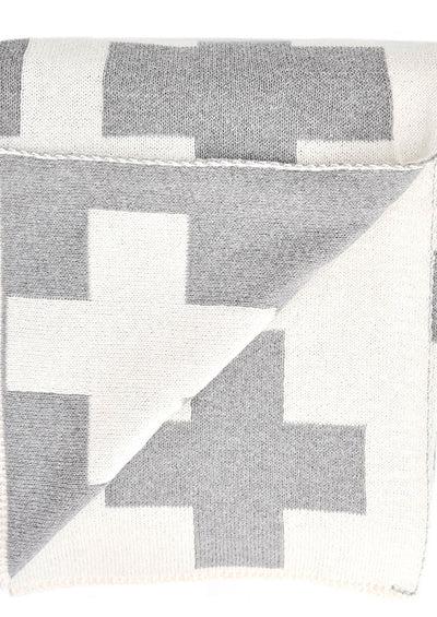 Swiss Cross Reversible Throw hover