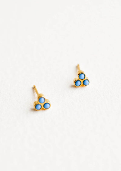 Bindi Stud Earrings in  - LEIF