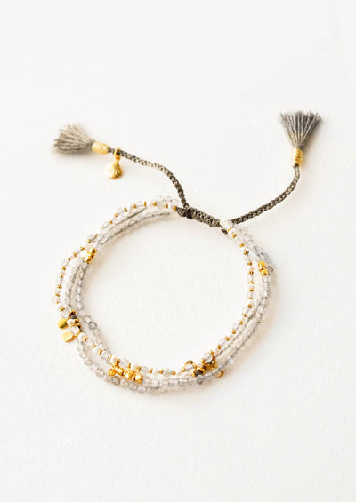 Chima Triple Strand Bracelet in  - LEIF