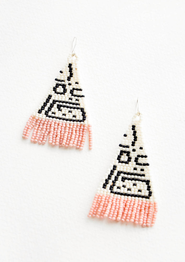 1: Tachete Beaded Earrings in  - LEIF
